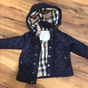 Burberry infant jacket size 12M